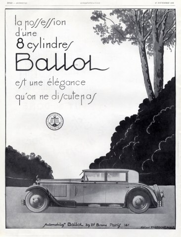 1928 ballot-cars-1928-hprints-com