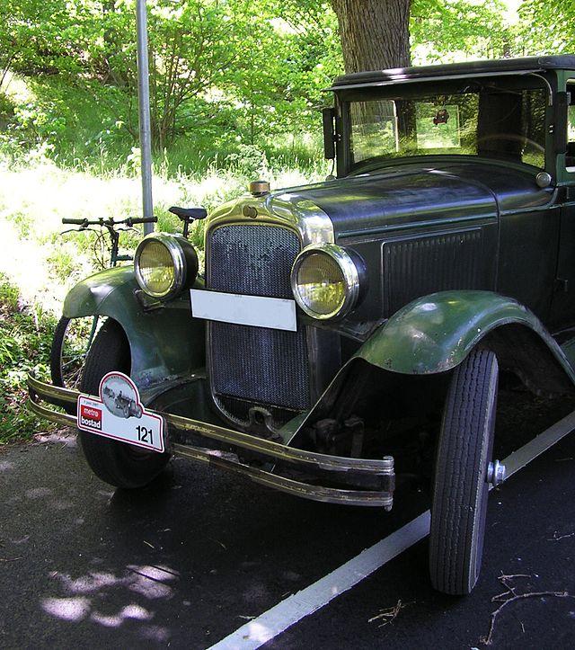 1928 Pontiac a