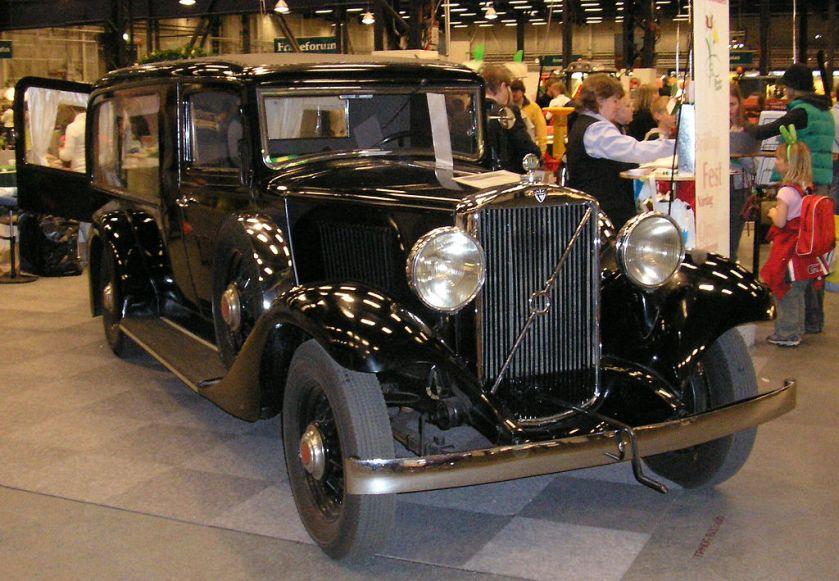 1928 Volvohearse