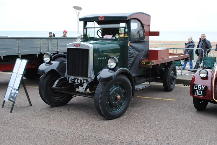 1929 Guy Flat Bed Lorry