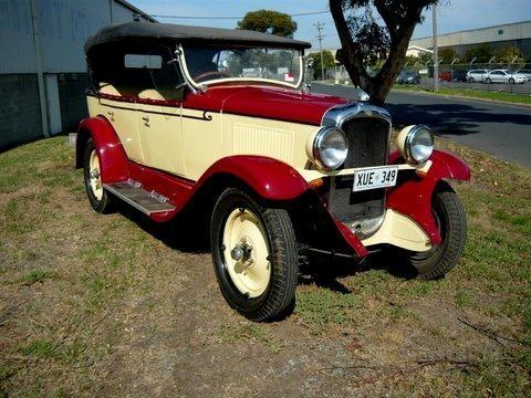 1929 Pontiac S6 - 29 Tourer