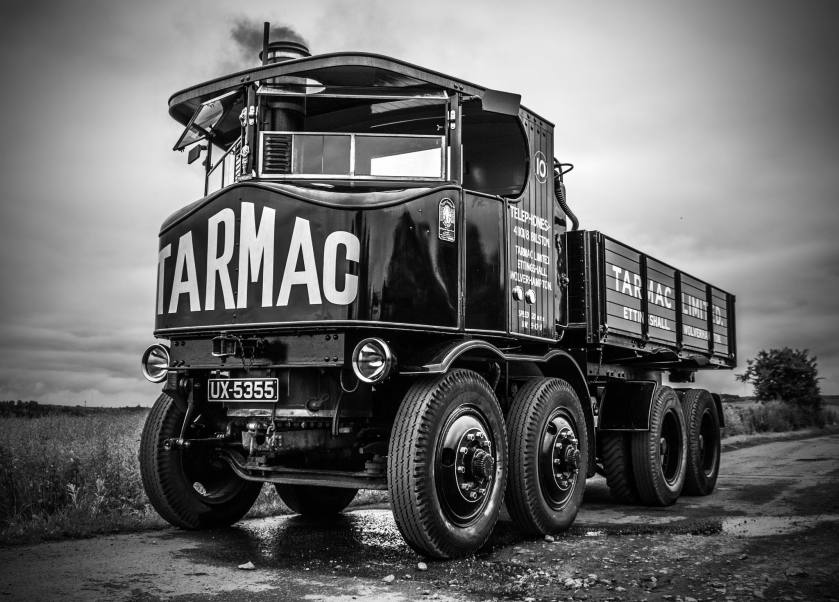1929 Tarmac liveried Sentinel DG8