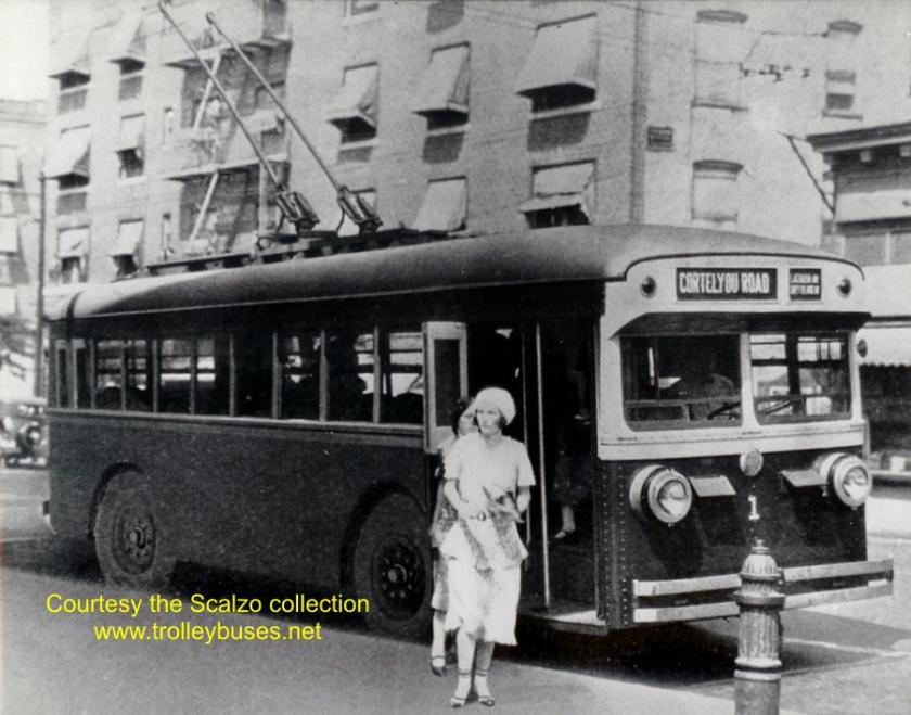1930 ACF E1 Trolley 1 on Cortelyou Rd