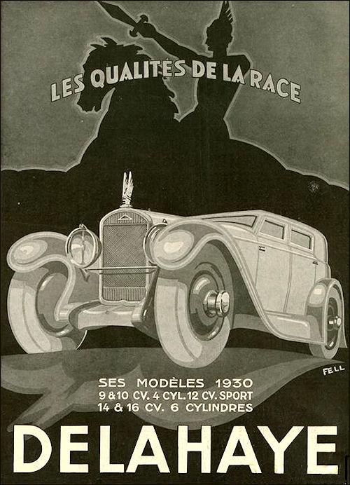 1930 Delahaye ad a