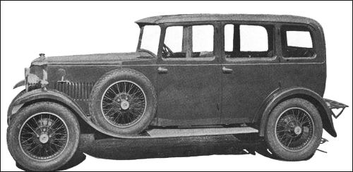 1931 AC 16-56 four-door saloon