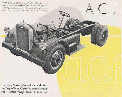 1931 ACF truck 1