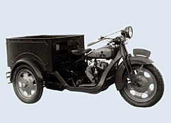 1931 Mazda's first production vehicle was a three-wheeled truck called the Mazda-go
