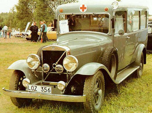 1931 Volvo PV650