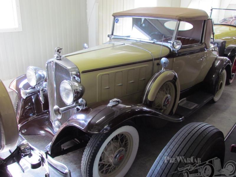 1932 Pontiac series 402-six Convertible