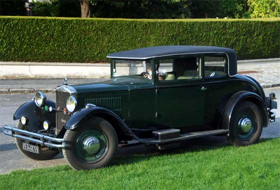 1932 Unic 11CV Coupe