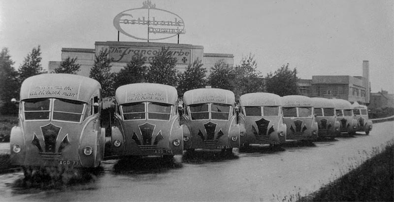 1933-36 Holland Coachcraft of Govan, Glasgow did the body work, while Albion, Commer and Guy Wolf created the chassis from 1933-36