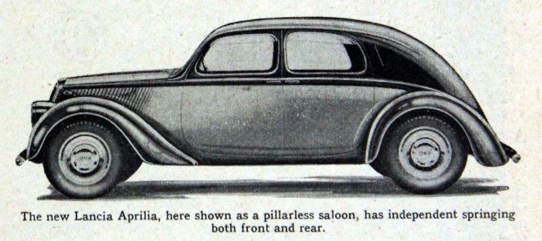 1933 Lancia Aprillia