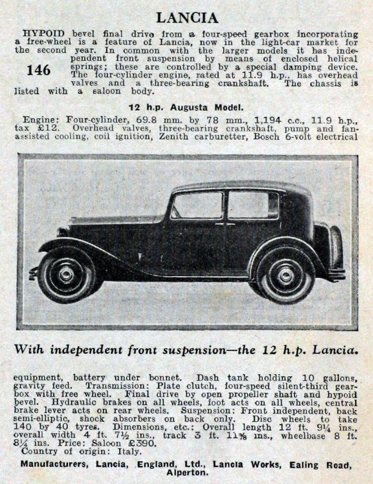 1933 Lancia