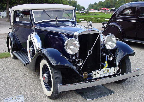 1933 Volvo PV655 Cabriolet Norrmalm