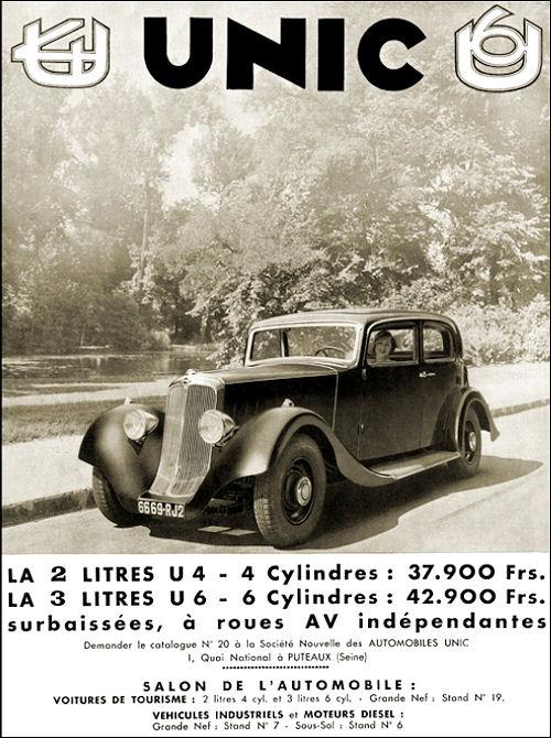 1934 Unic a