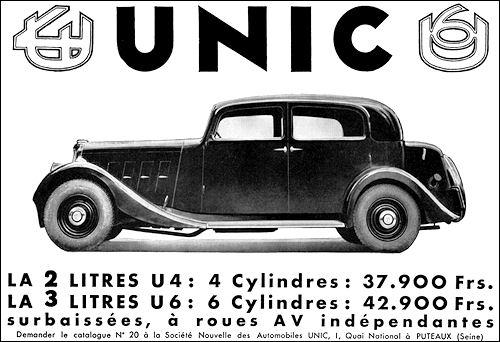 1934 Unic