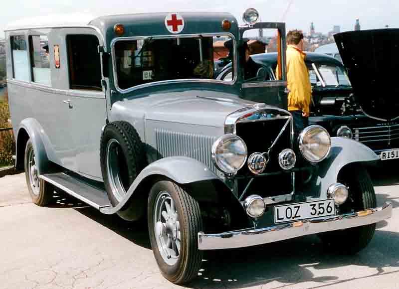 1934 Volvo PV655 Ambulance