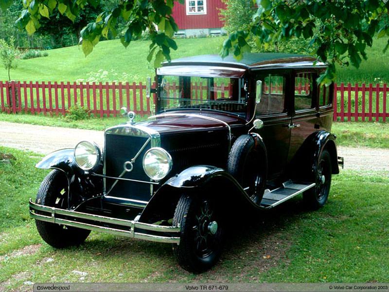 1934 Volvo TR675 1