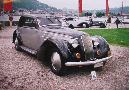 1935 Lancia Astura Coupe Gran Lusso Stabilimenti Farina