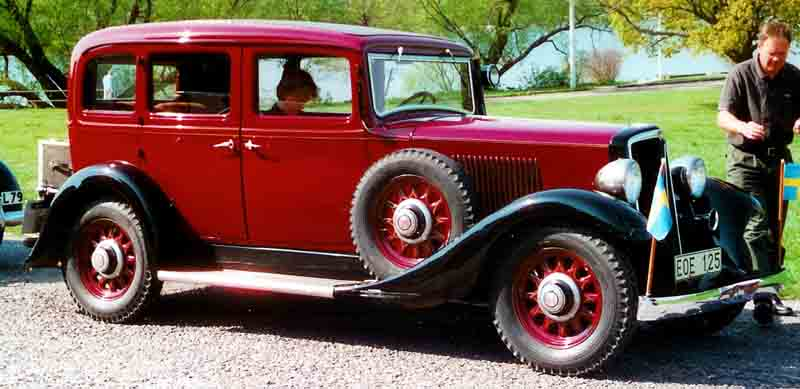 1935 Volvo PV659 Sedan