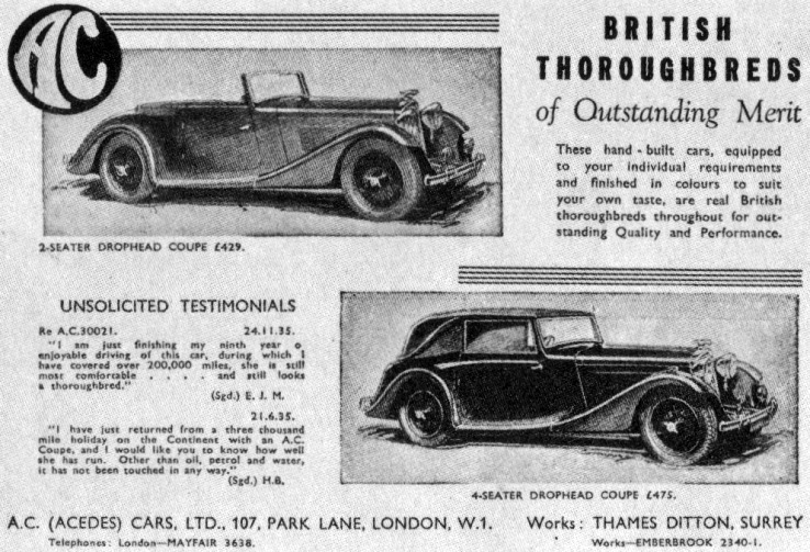 1936 Ac advert