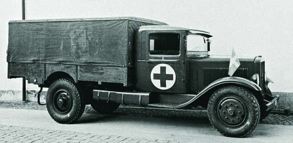 1936 Ambulance Volvo LV66