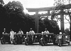 1936, four Mazda-go Type-KC36 trucks and one Mazda-go Type-DC took part in a caravan from Kagoshima to Tokyo