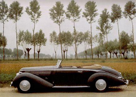 1936 Lancia Astura Convertible tipo Bocca Pininfarina