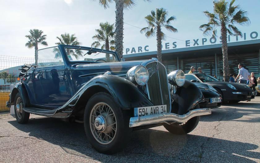 1936 Simca-Fiat 11 CV Cabriolet