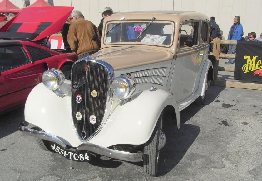1936 Simca Fiat 508 Balilla