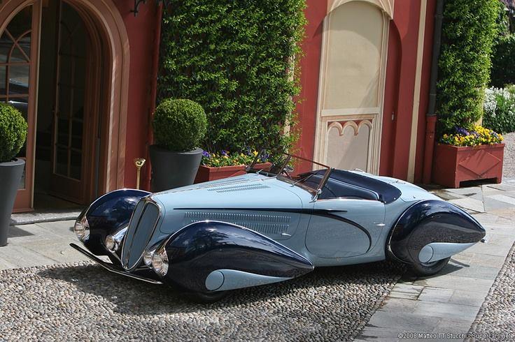 1937 Delahaye Cabriolet Torpedo