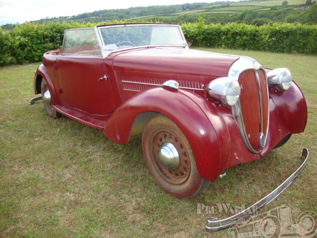1937 Delahaye type 134 N Chapron convertible