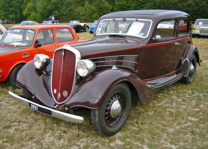 1937 Simca-Fiat 11CV Berline 5pl