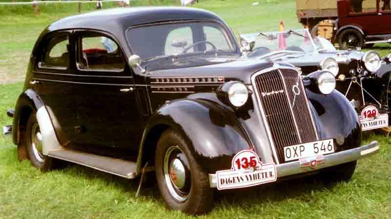 1937 Volvo PV51 Sedan 2