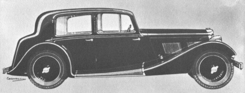 1938 AC 16-60 greyhound saloon