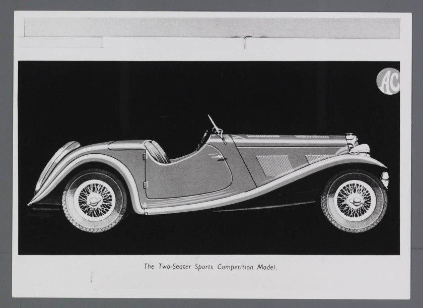 1938 AC 16-80 Sports Car