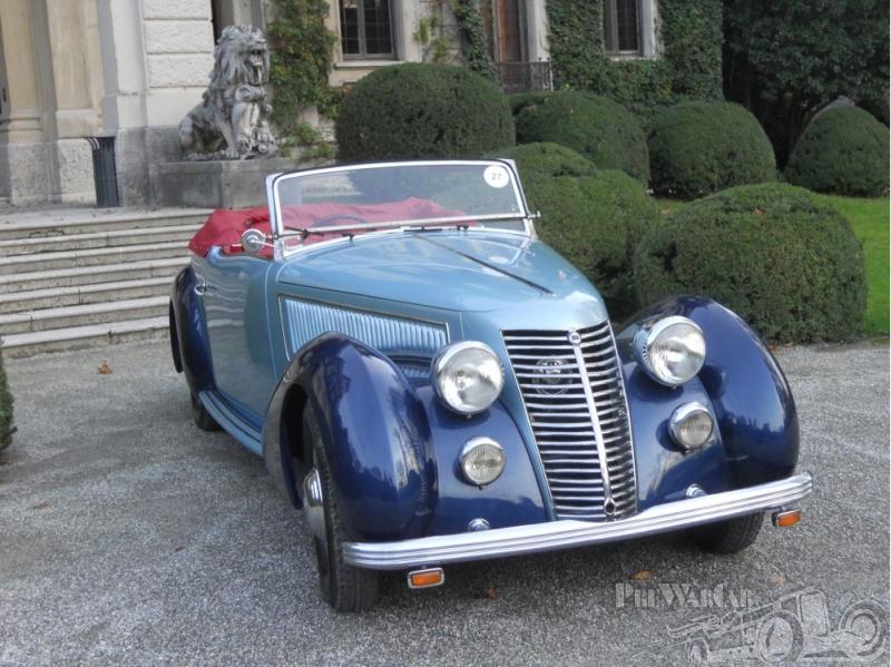1938 Lancia Astura Cabriolet Pininfarina Open