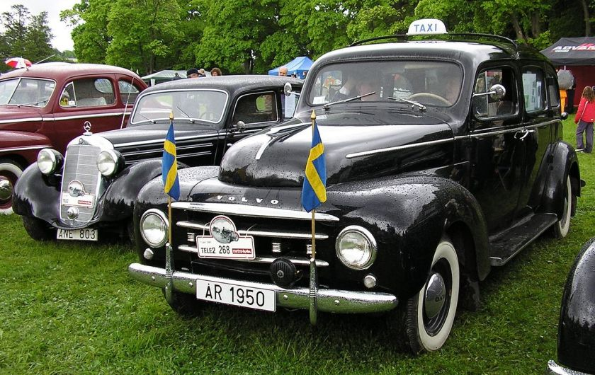 1938 Volvosugga Taxi