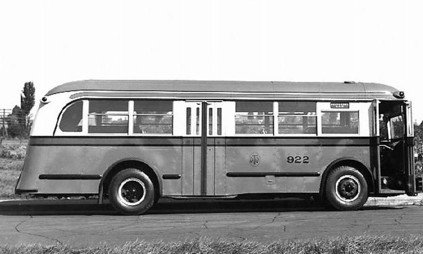 1939 ACF Brill Model 31-S transit