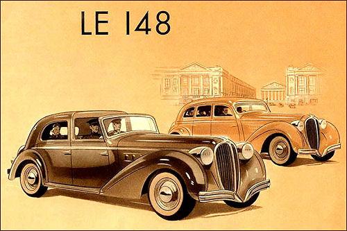 1939 Delahaye Le 148