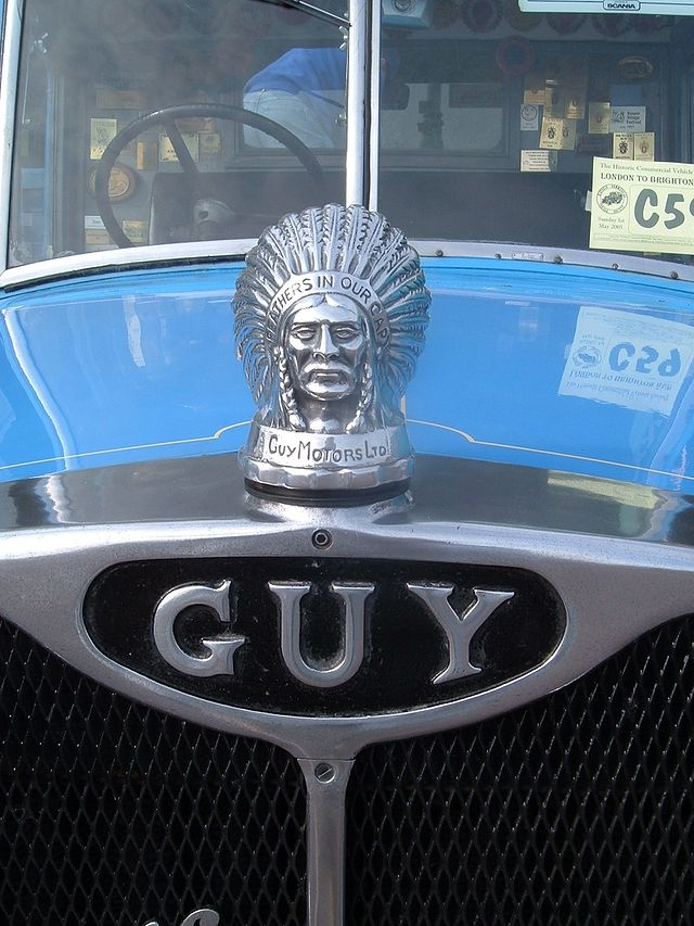1939 Guy Motors badge