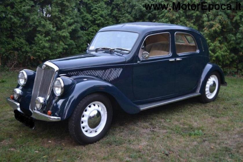 1939 Lancia Ardea,  completamente restaurata in vendita