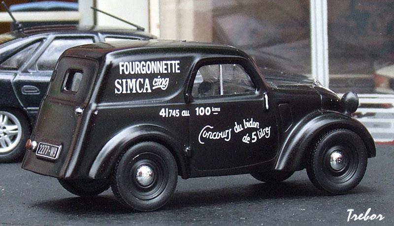 1939 SIMCA-5-Fourgonnette