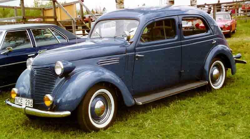 1939 Volvo PV53 Sedan