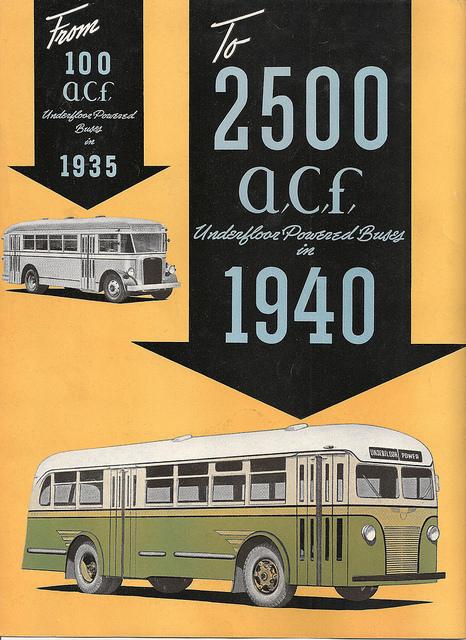 1940 ACF Brill Bus Brochure