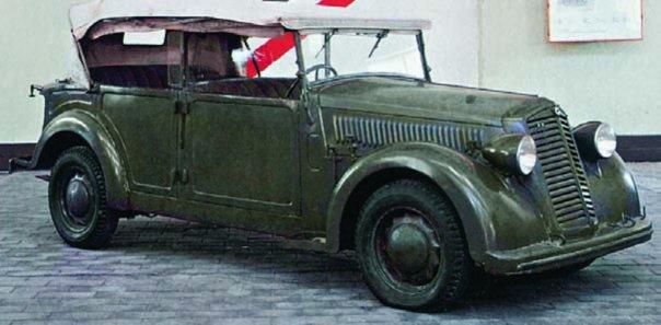 1940 Lancia Aprilia Coloniale
