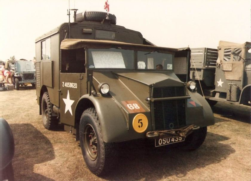 1941 Guy Ant radio truck OSU439 Duxford Military Vehicle