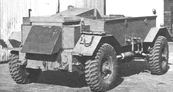 "1941 Guy ""Lizard"" Armored Command Vehicle"