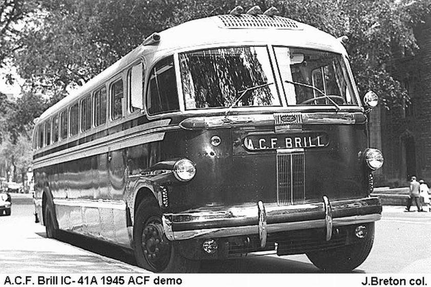 1945 ACF BRILL IC-41A CANADA