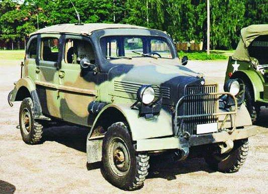 1945 Volvo-911 (TPV), 4x4